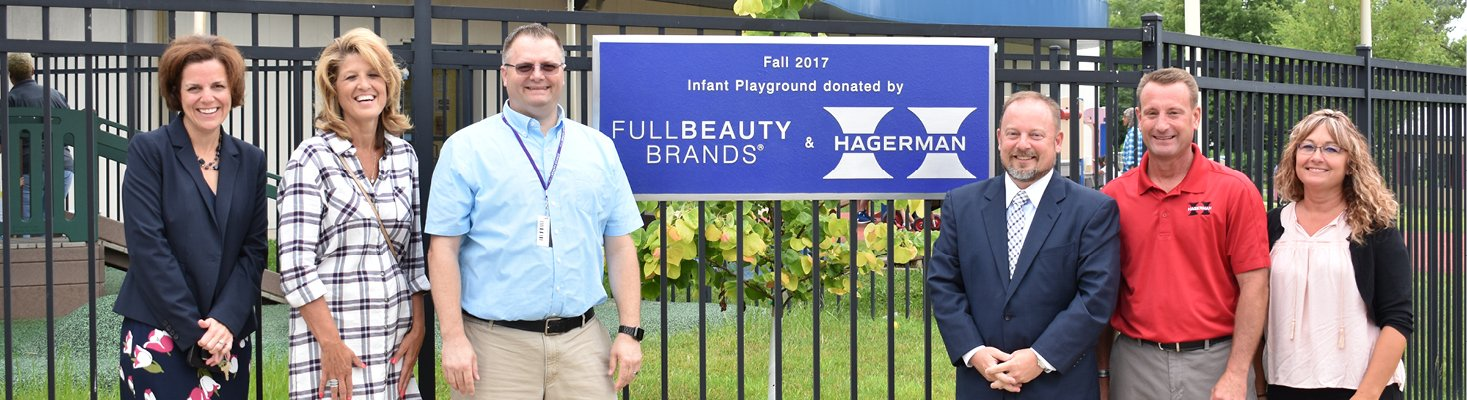 infant playground donated